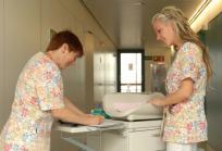 Enfermeras en el Hospital Sant Joan de Déu - Barcelona. Foto: HSJD