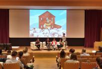 Presentación del libro El huerto de Estel. Imagen: Hospital Sant Joan de Déu Barcelona