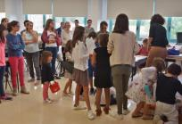 Taller para niños y niñas. Imagen: Hospital Sant Joan de Déu Barcelona