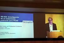 Randall Marshall en el primer encuentro de la Asociación ENACH española. Foto: Claudia Maccioni