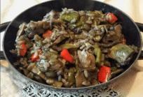 Paella verduras ECM proteínas