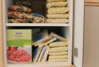 Pasta y cereales, banco alimentos en el Hospital Sant Joan de Déu Barcelona
