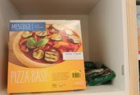 Pizza, banco alimentos en el Hospital Sant Joan de Déu Barcelona