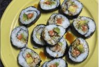 Sushi apto para dieta baja en proteínas